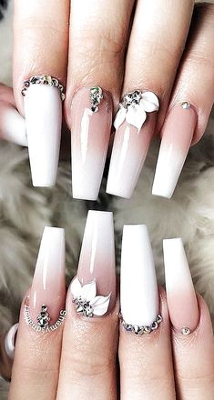 2019 Flashy Acrylic Nail Designs in Coffin Shape Of Summer Season. – Page 47 of … 2019 Flashy Acrylic Nail Designs in Coffin Shape Of Summer Season. – Page 47 of 55 – Women. Long Nail Designs, Acrylic Nail Designs, Nail Art Designs, Nails Design, Salon Design, Summer Acrylic Nails, Best Acrylic Nails, Gem Nails, Rhinestone Nails