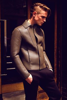 Patrick O'Donnell With Emporio Armani for Male Model Scene