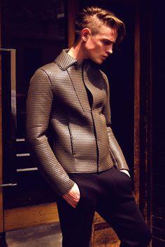 Patrick O'Donnell With Emporio Armani for Male Model Scene
