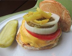 April is here and Bobby's Burger Palace (Princeton) sure makes it look tasty! Stop by all month long to enjoy their featured Chicago Burger, which is stacked with American cheese, banana pepper rings, sweet relish and white onion!