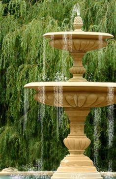Large Garden Fountains Cheap