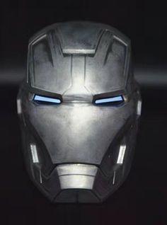 Cattoys-1-1-Full-Metal-LED-Helmet-For-Iron-Man-MARK-XLII-42-Cosplay-New