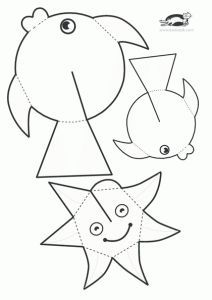children activities, more than 2000 coloring pages Sea Crafts, Fish Crafts, Diy And Crafts, Arts And Crafts, Paper Crafts, Summer Crafts, Summer Art, Toddler Crafts, Preschool Crafts