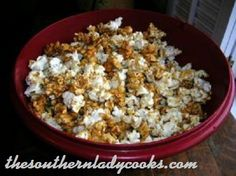 Everyone loves popcorn and this caramel popcorn is wonderful. This recipe is easy to make in the microwave and your children will love it.