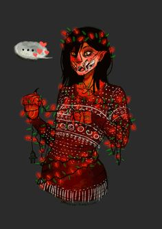 Milena from Mortal Kombat X - Christmas Mortal Kombat Comics, Kitana Mortal Kombat, Scorpion Mortal Kombat, Mortal Kombat Games, Mortal Kombat Art, Kung Lao, Character Art, Character Design, Johnny Cage