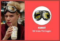 Hamist RAF Aviator Pilot Goggles  as seen on Jillian Holtzmann in Ghostbusters (2016)   TheTake.com