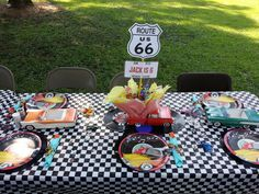 Retro/Classic Cars/ Hot Rod Birthday Party Coordinated & Designed by OCCASIONAL CELEBRATIONS - 2013 Birthday's