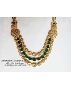 Pacchi setting Flat Diamond Necklace