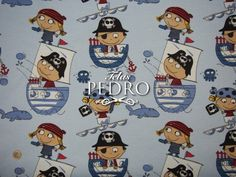 De nuevo disponible la loneta de piratas azul en 280 cm. de ancho. Suelen emplearla en habitaciones infantiles (colchas, fundas nórdicas, caídas, estores, bandós, cojines), mochilas, etc. Además disponemos del modelo de animales para cooordinar y en tono rosa. Enlace: www.telaspedro.com/catalogsearch/result/?order=relevance&dir=desc&q=%22coordinado+piratas%22 #piratas #infantil #tapicería #loneta #niños #decoración