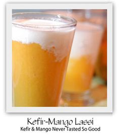 Mango Kefir Lassi (Gaps stage 6)