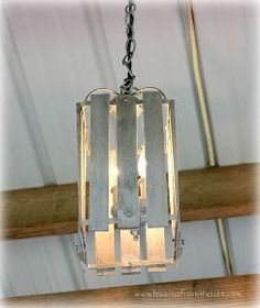 slaughter the 70 s an ugly ligh re do, lighting, outdoor living, repurposing upcycling