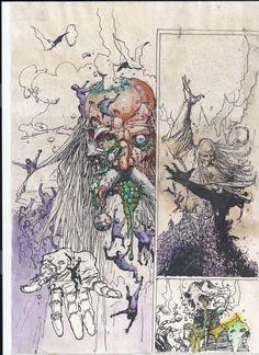 Pencils, Inks & Sketches | The Art of Simon Bisley