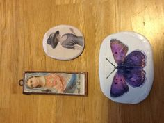 Epoxy Clay Transfer Experiment by Ellie826 : I really didn't expect this project to turn out and was not careful lining up the images on the clay.