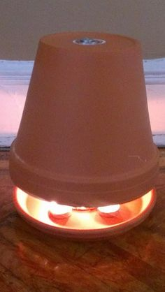 Candle Powered Heater - I've been looking a various ways to make these and this guy has by far the best setup. It isn't so much a how-to video. He is just showing what he used to construct his version of the terra cotta pot candle heater.