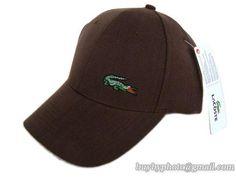 e2f864536b724 Lacoste Baseball Caps Brown