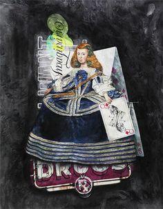menina - Acrylic on canvas - 110x80cm