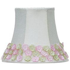 Httpfabstylekidsroomslightinglamp shadeschandelier shade floral border chandelier shade mozeypictures Gallery