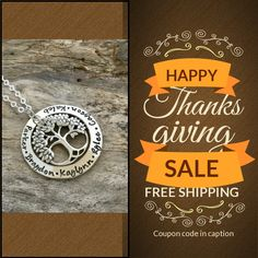 WERE GIVING THANKS - every order over $25 Gets a $12 Shipping Credit US orders will ship - tracked  Canadian orders will ship - Expedited Coupon Code: SHIPFREE Min Purchase: $25 Expiry: 25-Nov-2016.  http://thesilverwing.com or https://www.thesilverwing.etsy.com   #sale #coupon #handmade #etsyshop #handmadejewelry #etsyseller #handmadewithlove #sterlingsilver #etsystore #handmadeisbetter #handmadejewellery #etsyjewelry #etsyhandmade #handstamped #handmadegift #personalizedjewelry…