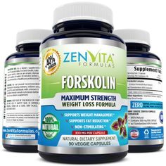 ZenVita Formulas Forskolin- The Ultimate Fat Burner