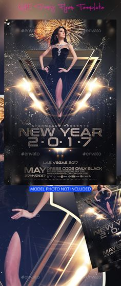 Buy NYE New Years Eve Flyer by Stormclub on GraphicRiver. NYE New Years Eve Flyer This poster can also be used for a new album promotion or other advertising purposes. Dj Party, Festa Party, Party Flyer, Happy New Years Eve, Happy New Year 2019, Christmas Flyer, Christmas Design, Silvester In New York, New Year's Eve Flyer