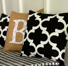 How to make easy envelope pillow covers