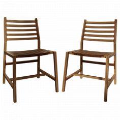 Paire de chaises Tschichold