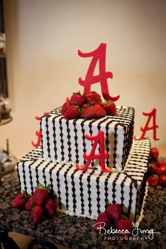Alabama Cake #wedding perfect for a grooms cake...