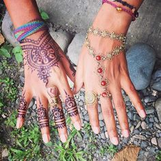 """""""Often the hands will solve a mystery that the intellect has struggled with in vain. Hand Chain, Carl Jung, Flower Of Life, Henna, Mystery, Handmade Jewelry, Tattoos, Instagram Posts, Flowers"""