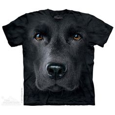 Black Lab Face Tee