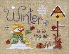 Buy Winter is in the Air Chart Online at www.sewandso.co.uk
