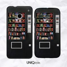 Vending snack machine phone case for HTC one m7 m8  by Uniqstyle, $9.99