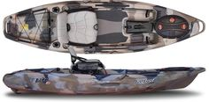 Feelfree - LURE 10 $ 999.00  Feelfree Kayaks is taking kayak fishing to a new level in stability, comfort and versatility with the new 2014 Lure10. The Lure 10 is the smaller more compact brother of the Lure 11.5 and is excellent for shorter trips on rivers and lakes without comprising features.  The kayak comes standard with a variety of unique features including a removable multi-level extra wide Gravity Seat, Feelfrees wheel in the keel and Uni-Track system. The patent pending Feelfree…