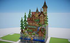 Minecraft Epic Builds, Minecraft Images, Minecraft Castle, Minecraft Plans, Minecraft House Designs, Amazing Minecraft, Cool Minecraft Houses, Minecraft Tutorial, Minecraft Blueprints