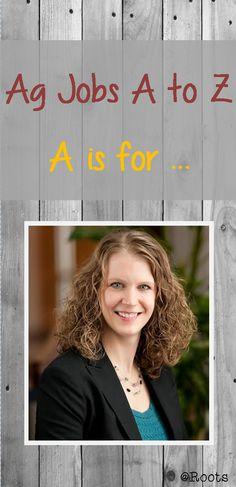 Ag Jobs A to Z: Accountant, Career Fair