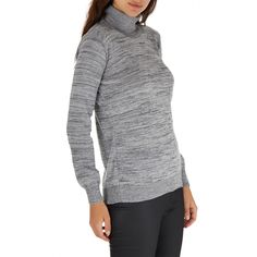 Our model wears a size M and is 180 cm tall. Turtle Neck, Pullover, Grey, Model, Sweaters, Campaign, How To Wear, Fashion, Gray