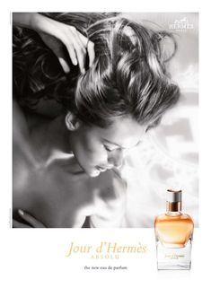 Jour Absolu d'Hermès - Floral absoluto; buque de flores de gardênia, jasmim sambac e flores de damasco.