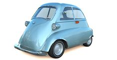 BMW Isetta 3d model, classic microcar. Medium Detailed exterior and interior, good for closeup renders. Tri faced medium resolution mesh, detailed 3d model BMW Isett with Vray materials and textures. Bmw Isetta, Microcar, Mesh, Exterior, 3d, Medium, Classic, Model, Derby