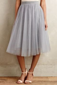Bailey 44 Tulle Midi Skirt