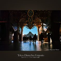 Tokyo DisneySea Emporio | 東京ディズニーシー エンポーリオ前からの眺め Tokyo Disney Sea, Tokyo Disney Resort, Disney Pixar, Disneyland, Earth, Japan, Explore, Adventure, Facebook