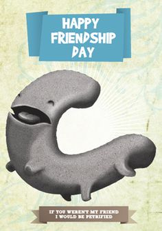 Felicita a tus amigos! // Felicita als teus amics! // Greet your friends! Happy Friendship Day, Pillows, Funny, Friendship Cards, 3d Cards, Baddies, Hilarious, Tired Funny, Happy Friends Day