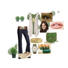 Green!, created by abbiieolmiitoz on Polyvore