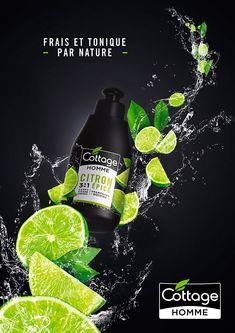 COTTAGE Shower Gel. Designed by: RAISON PURE PARIS, France.