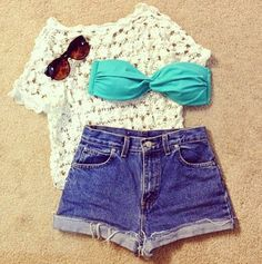 Outfits. For the beach.