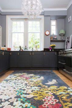 A Mix Of Brass Handles Complete Emily's Cupboard Update In Her Edinburgh Home On Design*Sponge