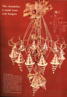 vintage wire hanger crafts - Google Search