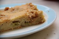 frieda's REtroGALerie: langweiliger rhabarberkuchen