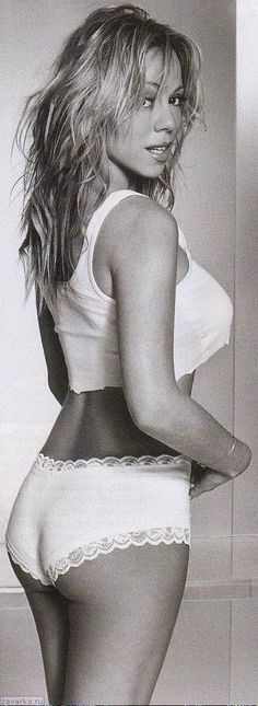 HOW CAN YOU SAY MARIAH WAS NEVER ATTRACTIVE