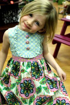 Spring Playful Picnic dress by LottieDaBaby on Etsy