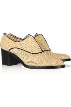 raffia oxfords