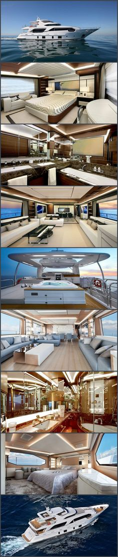 Benetti Delfino 93 Ocean Drive Luxury Yacht. I'm just going to sell everything and live on this- єtєгภαℓℓy ℓuχє ♔ℓadyℓuχury ♔